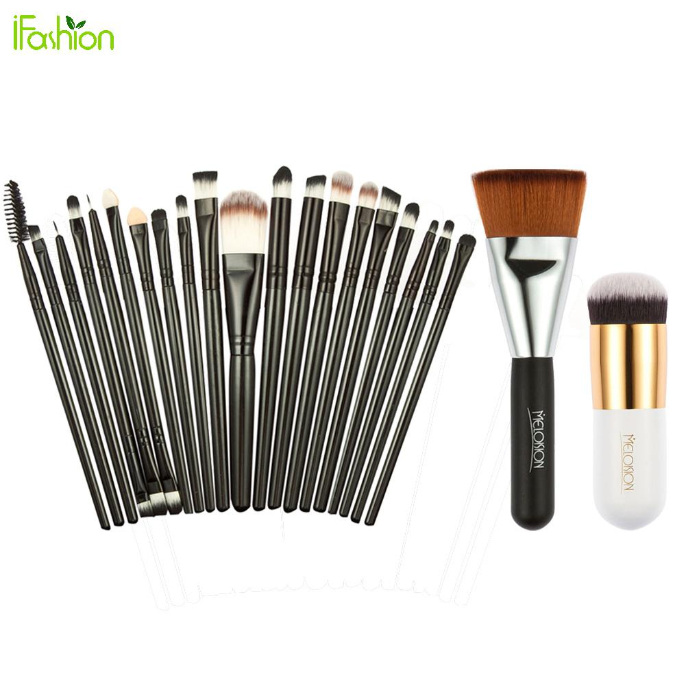 22pcs Makeup Brushes Set Pro Powder Blush Foundation Eyeshadow Eyeliner Lip Cosmetic Brush Kit Beauty Tools Maquiagem new 32 pcs makeup brush set powder foundation eyeshadow eyeliner lip cosmetic brushes kit beauty tools fm88