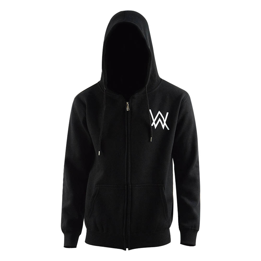 Alan Walker Hoodie Men's Winter Autumn Sweatshirt Logo Hooded Black Jacket Coat
