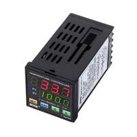 MYPIN TA4 SNR Temperature Controller Dual Digital F/C PID Thermostat SSR Control Output Alarm