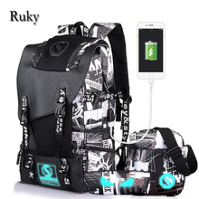 2017 New Men's Backpacks Mochila For Women Teenage Fashion Student School Bags Casual Trave 14-15Inch Laptop Bag Male Rucksack