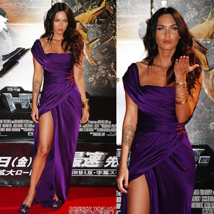 Megan Fox Purple Dress...