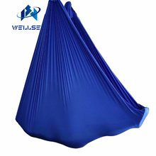 Customized Length -- Aerial Yoga Hammock Fabric Flying Swing Bed Anti-Gravity Trapeze Inversion Aerial Traction touch Device(China)
