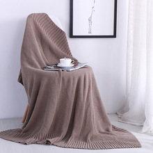New Blanket American Style Thick Sewing Sofa Photo Props Knit Shawl