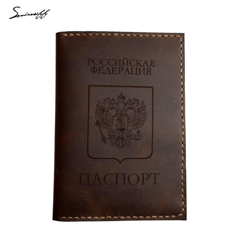 caso acessórios de viagem passaporte Wallets Men : Leather Wallet Purse