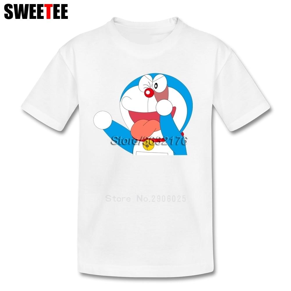 T Shirt kid 2018 T-shirt 100% Cotton O Neck baby Tshirt childrens infant toddler doraemon rock music Teeshirt For boy girl
