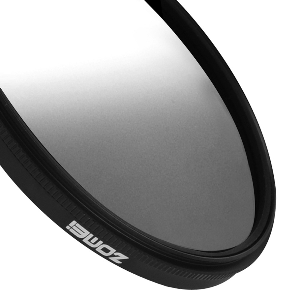 Zomei Super Slim Lightweight Graduated Grey Neutral Density ND Optical Filter For Camera 49mm 52mm 58mm 67mm 72mm 77mm 6
