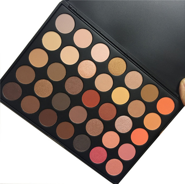 BRAND OPERACOSMETICS 35 color Earth Color Matte Pigment Eyeshadow Palette Cosmetic Makeup Eye Shadow for women 350 35O 35B 35E