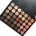 MARCA OPERACOSMETICS 35 color Tierra Color Mate Pigmento Paleta de Sombra de ojos Maquillaje Cosmético Sombra de Ojos para las mujeres 350 35O 35B 35E