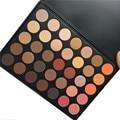 MARCA OPERACOSMETICS 35 cores Terra Cor Matte Pigment Eyeshadow Palette Cosméticos Maquiagem Sombra de Olho para as mulheres 350 35O 35B 35E