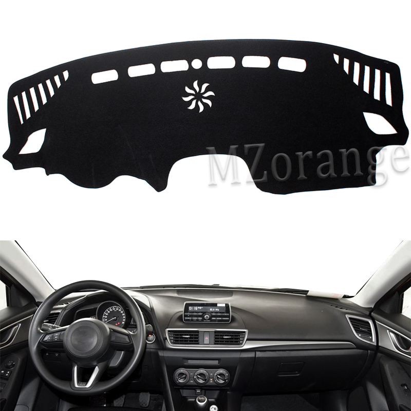 For Mazda 3 M3 Axela BM 2014 2015 2016 2017 2018 Dashboard Cover Dashmat Dash Mat Pad Sun Shade Dash Board Cover Carpet dashmat original dashboard cover buick skyhawk