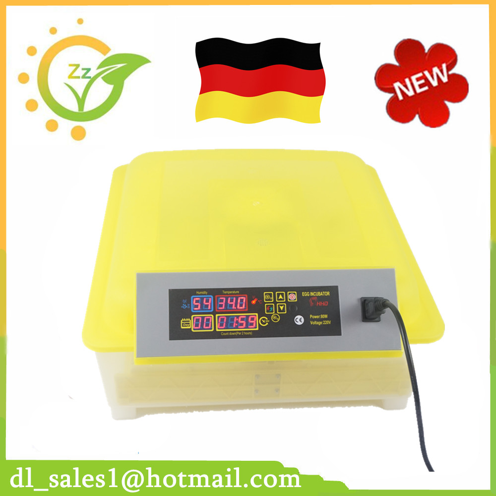 ФОТО Wholesale And Retail High Quality 220V 48 Eggs Incubator Automatic Temperature Controller Full Digital Incubator Machine