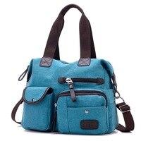 Large Capacity Women Casual Style Canvas Tote Belt Decoration Shoulder Bag New High Quality Shoulder Bag Hot Sale