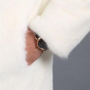 Image 5 - 2018 Новое замшевое пальто мужская приталенная Мужская норковая Меховая куртка с капюшоном и отворотом Мужская куртка большого размера S XXL XXXL 4XL 5XL куртка из искусственного меха