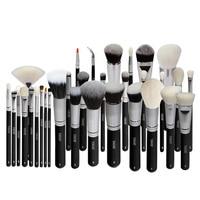 YAVAY Brand New 32pcs Original Professional Luxury Artist Makeup Brush Set Animal Hair Synthetic Hair Makeup