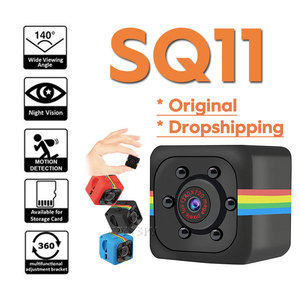 SQ11 HD 1080P/480P Mini Camera Espion Gizli Kamera Casus Night Vision Motion Sensor Secret Camara Espia Small Micro Body Cam(China)