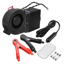 500W PTC Ceramic Car Heating Heater Hot Fan Defroster Demister DC 12V Winter Warm Heater Essential Goods for Automobiles