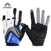 INBIKE Radfahren Handschuhe Vollfinger 5 MM Gel Gepolsterte Fahrrad Handschuhe 2 Farben Sport Handschuhe Motorrad Fahrrad Ausrüstung Handschuhe