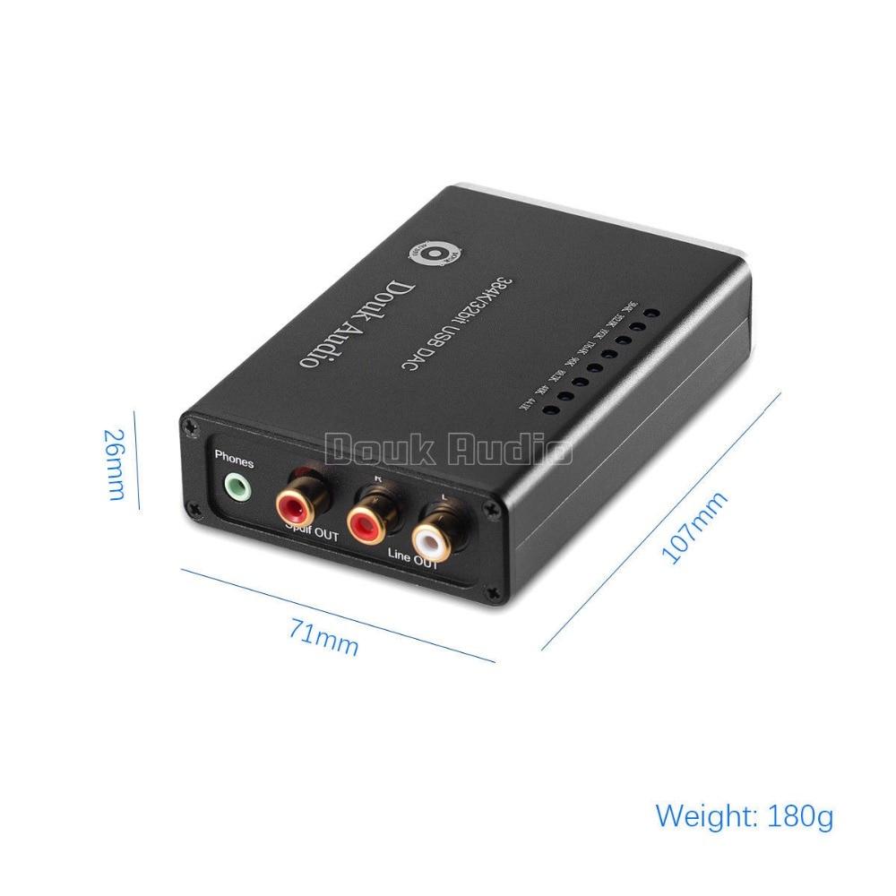 2018 Yeni Nobsound HiFi Mini PCM5102 USB XMOS DAC 384K / 32bit - Evdə audio və video - Fotoqrafiya 4