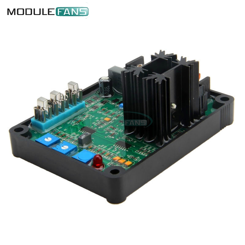 GAVR-8A AVR Generator Automatic Voltage Regulator Module Universal AVR Generator Universal EMI Suppression 90V-480V VAC Input