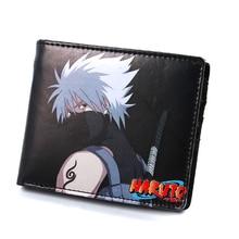 2018 New Conan One Piece Naruto Japanese Anime Character Design Men Short Wallet Cartoon ID Cards Holder Bag Women Coin Carteira