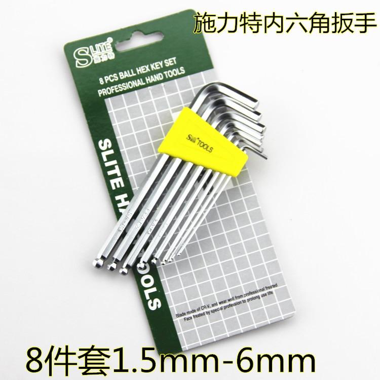 Gli utensili a brugola con chiave esagonale da 8 pezzi all'interno di - Utensili manuali - Fotografia 1
