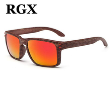 RGX 2017 New WOOD PATTERN FRAME Sunglasses Men/Women Brand Design Unisex Driving Sunglasses Mirror Sun Glasses Gafas De Sol
