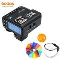 Godox X2T-C X2T-N X2T-S X2T-F X2T-O 2,4G ttl HSS передатчик Беспроводной триггер для вспышки для цифровой зеркальной камеры Canon Nikon sony фужи Олимпус