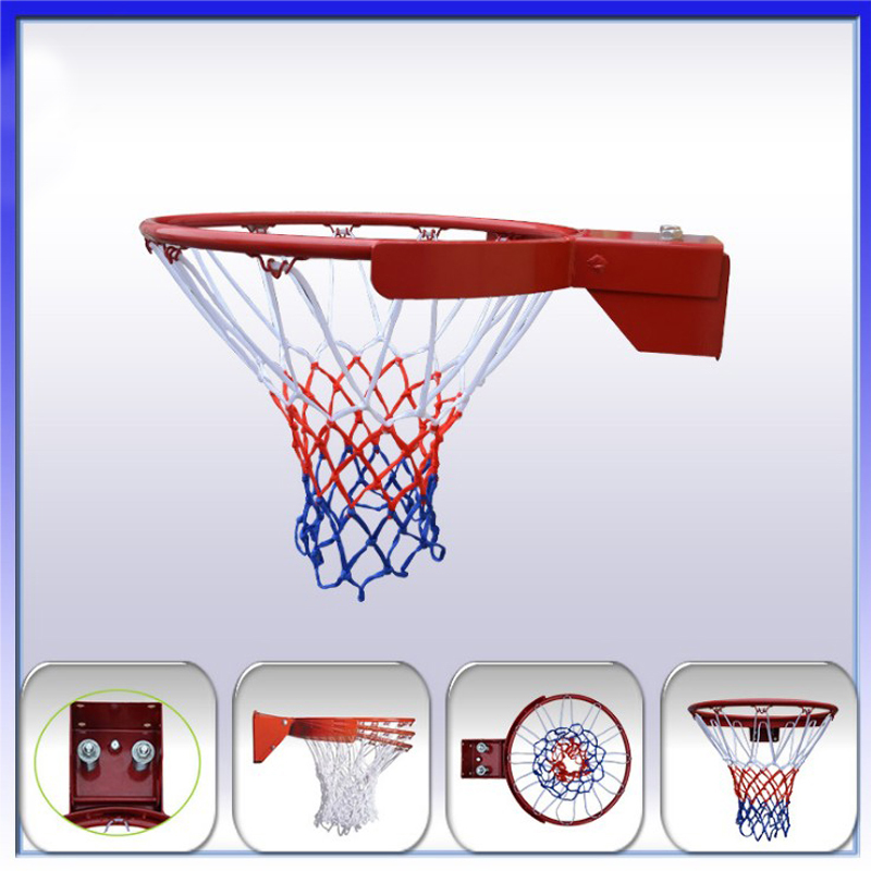38cm Inside Diameter Basketball Hoop With Hollow Rim + Outside Hoop With Rolling Band