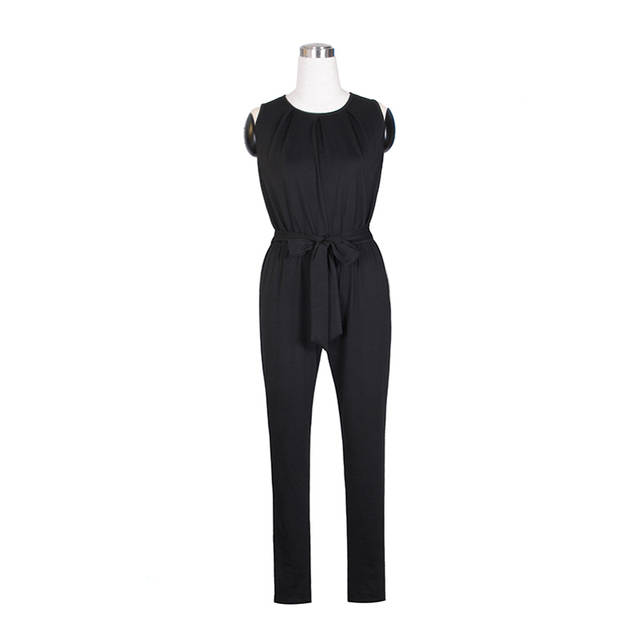 Tienda Online Casual mujeres Jumpsuit 2017 moda Romper pantalones ...