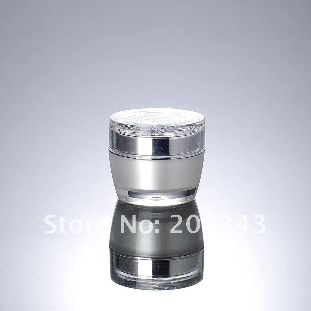 15G pirnvalge akrüülkreemipurk lillekujulise - Nahahooldusvahend