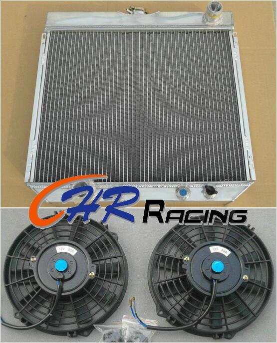 1970-1977 Ford Maverick 3 Row AS Alum Radiator