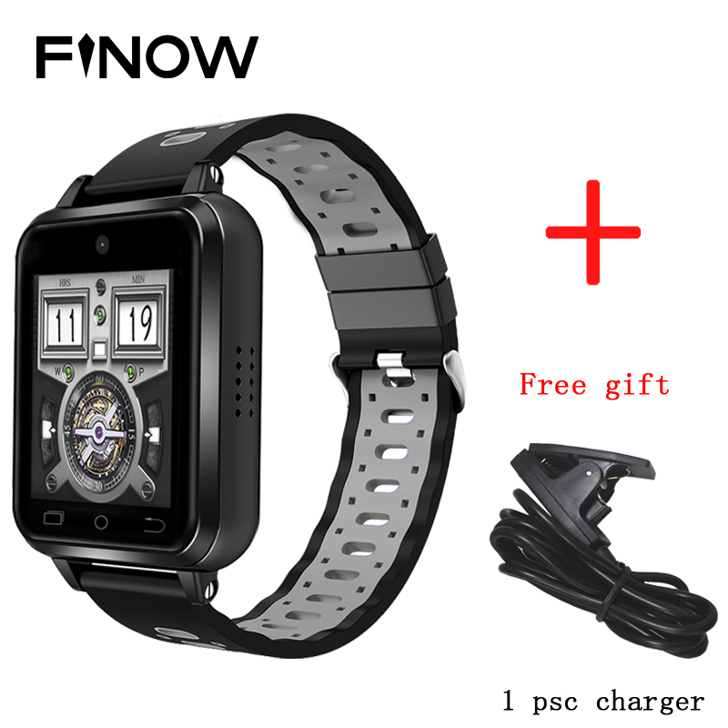 Finow Q1 Pro 4G Smart Watch Android 6.0 MTK6737 Quad Core 1GB/8GB SmartWatch Phone Sim Card For Kids School With MiaoMiao