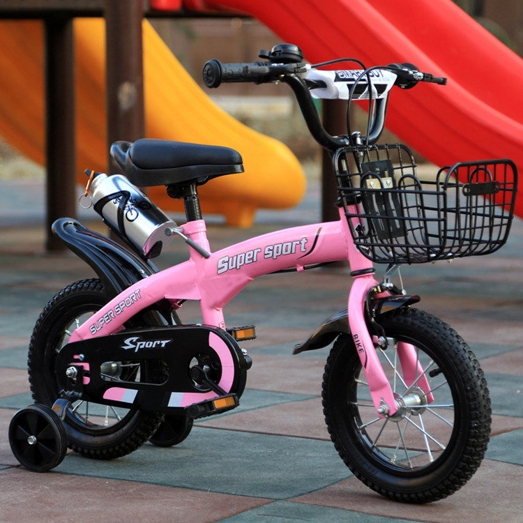 HTB1Fez0X2c3T1VjSZPfq6AWHXXa5 2019 hot sell Wisdom children bicycle boy 12/14/16 inch 2-9 years old baby bicycle stroller men and women children single
