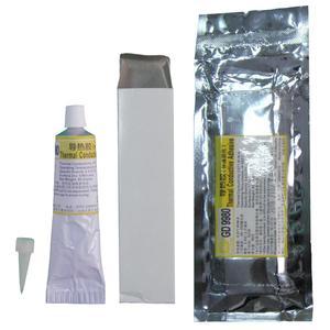 Image 2 - Net ağırlık 85 gram hızlı kür alüminyum yumuşak tüp ambalaj beyaz GD9980 termal yapıştırıcı çimento tutkal silikon LED VGA ST85