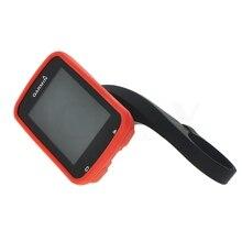31.8 мм Компьютер Велосипеда Руль QuickView Черный Кронштейн + Защиты Резиновый Красный Чехол для Езды На Велосипеде GPS Garmin Edge 820