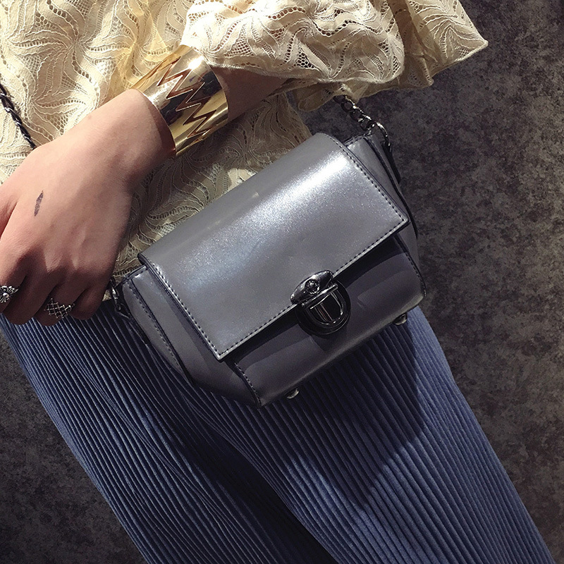 lkprbd new fashion vintage casual solid chains hasp mini flap ladies evening bag women shoulder messenger crossbody bag
