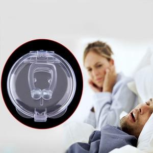 Image 2 - หยุดกรนAnti Snore Nose ClipภาวะหยุดหายใจขณะนอนหลับGuardถาดSleeping Aidกำจัดหรือโล่งใจSnoring Health Care #85184