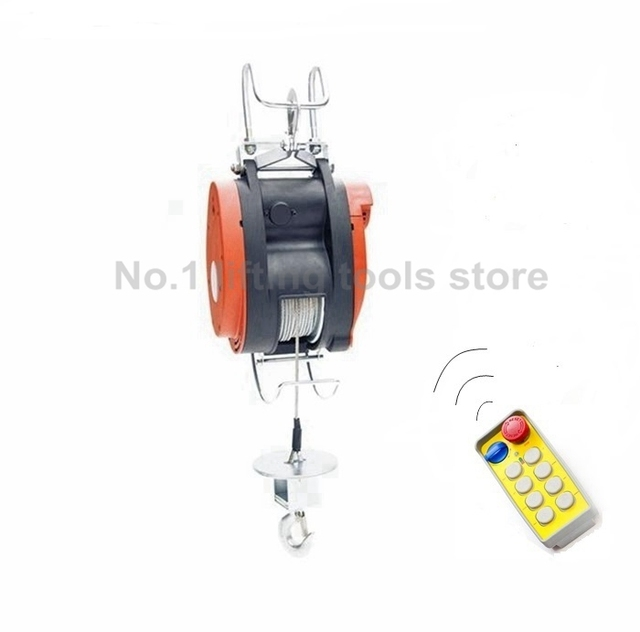 Kapazität 250 kg 220 volt Elektrische Mini Draht Winde mit drahtlose ...