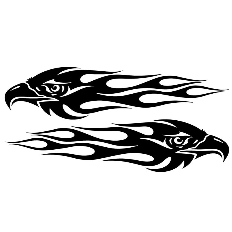 Eagle Sticker PromotionShop For Promotional Eagle Sticker On - Motorcycle tribal custom stickers designmotorcycle sticker tribal promotionshop for promotional