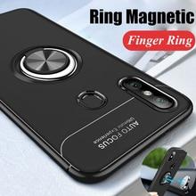 Rotating Finger Ring Magnetic Car Holder Case Xiaomi Redmi Note 5 Pro / Redmi Note 5 Back Cover Silicone Case Redmi 6 Note 6 Pro недорого