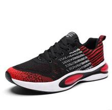 new 2019 trend flying woven mens sneakers summer breathable shoes fashion running men masculino