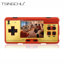 TSINGO Built in 638 Classic Games 8 Bit Retro TV Video Game Console Support AV Output Portable Mini Handheld Game Players Gift