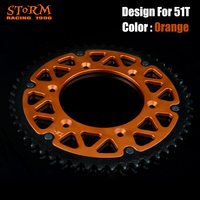 44 46 47 48 49 50 51 52 T Teeth Rear Chian Sprocket For KTM EXC