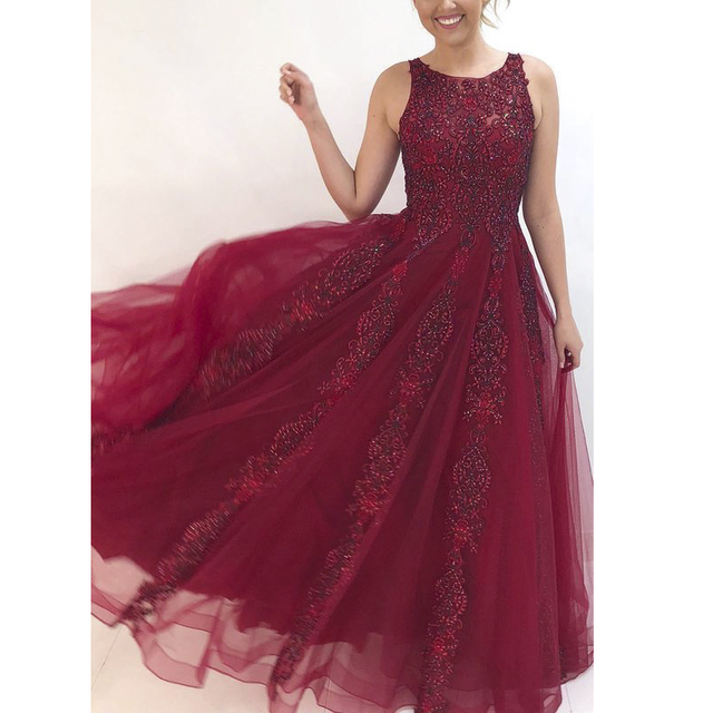 Angel married  evening dresses sleeveless beaded appliques lace mother of the bride dress formal gown  robe de soiree