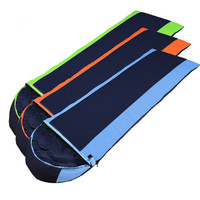 Wnnideo Outdoor Camping Envelope Sleeping Bag Down Adult Nap Fleece Portable Warm Comfortable