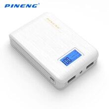 Оригинал PINENG Новая Власть Банк 10000 мАч Dual USB Внешняя Батарея Портативное Зарядное Powerbank для Iphone 7 s 6s