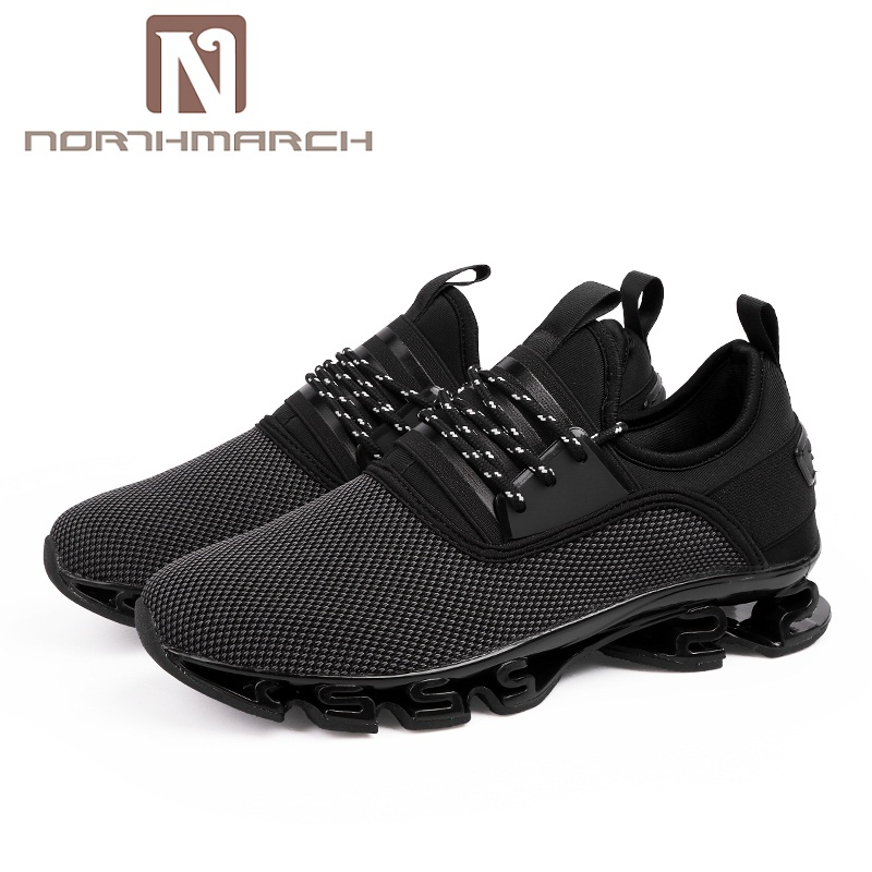 NORTHMARCH Large Size Mens Sneakers Summer Breathable Shoes Men Lace Up Casual Shoes Man Footwear Zapatillas Hombre Deportiva