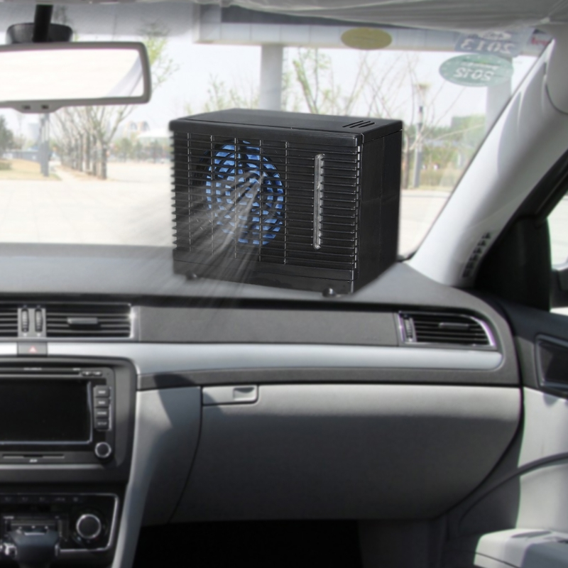 Portable Air Conditioner For Cars 12V Adjustable 60W Car Air Conditioner Cooler Cooling Fan Water Ice Evaporative Cooler Toyota Land Cruiser