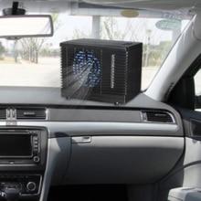 Tragbare Klimaanlage Für Autos 12V Einstellbar 60W Auto Klimaanlage Kühler Lüfter Wasser Eis Verdunstungs Kühler