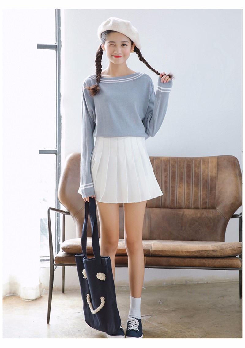 pleated skirt 20